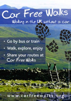 Car Free Walks A4 Portrait poster