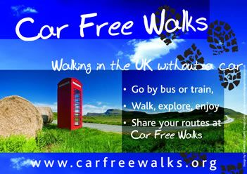 Car Fee Walks landscape poster in English