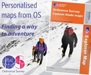 Personalised maps from OS